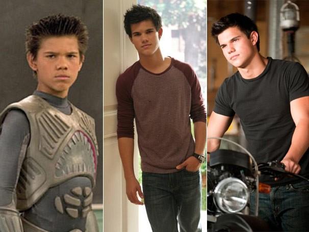 Taylor Lautner começou a carreira com apenas sete anos de idade (Foto: Divulgação / Reprodução)
