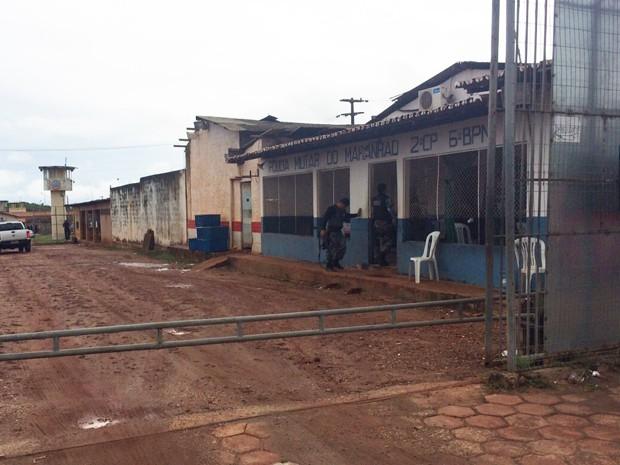 Seis presos fogem do Presídio São Luís II, no Complexo de Pedrinhas (Foto: Dalva Rego/TV Mirante)