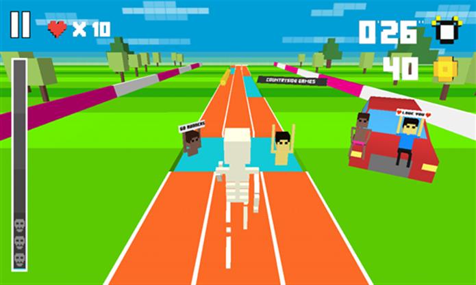 Retro Runners é um game com design 8-bits para Windows Phone (Foto: Divulgação/Windows Phone Store)