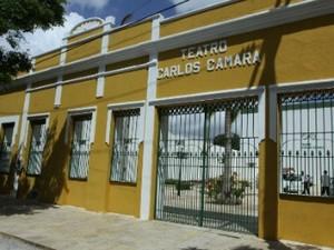 Teatro Carlos Câmara (Foto: Governo do Ceará/Divulgação)