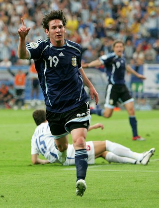 Lionel Messi Argentina Copa do Mundo 2006 (Foto  Getty Images) 6d4ded7e687bc