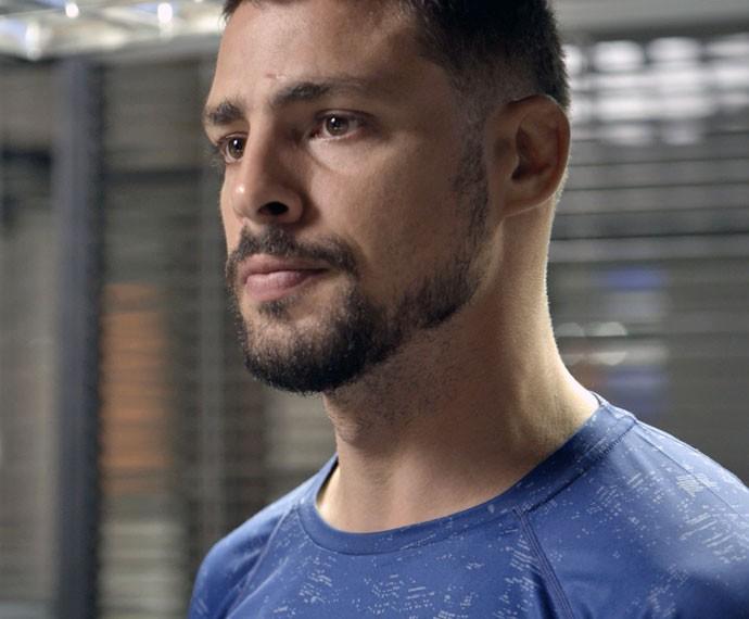 Juliano fica surpreso com atitude do ex-vereador (Foto: TV Globo)