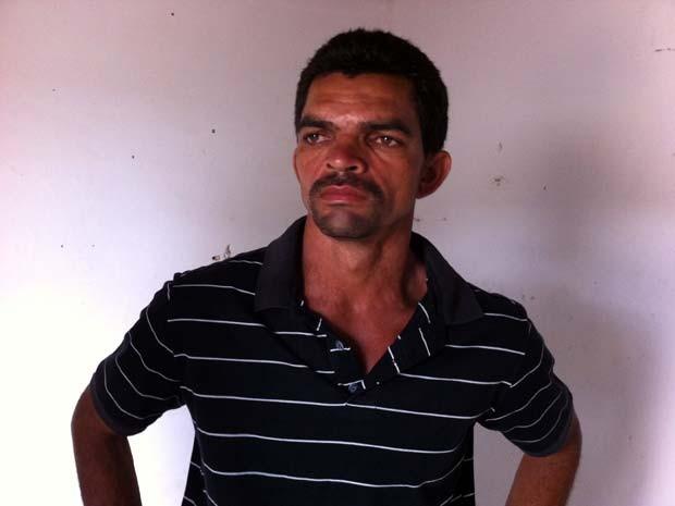 Manoel Justino confessou ter matado a mulher no RN (Foto: Cedida/Polícia)