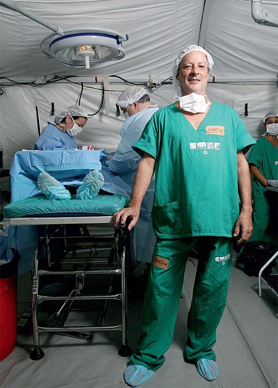 Martin Ferreira, anestesista e um dos criadores da ONG EDS  (Foto: Rogério Cassimiro/ÉPOCA)