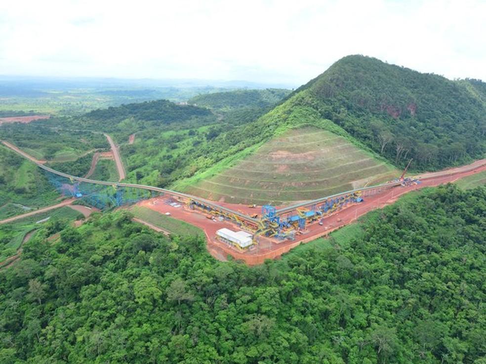S11D é o é o maior projeto de mineração da história da Vale  (Foto: Divulgação)