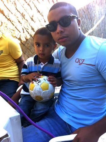 Felipe, filho do Dener (Foto: Arquivo pessoal)
