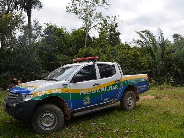 Maioria dos crimes ocorreu na zona rural de Buritis, segundo PM (Foto: Jonatas Boni/ G1)