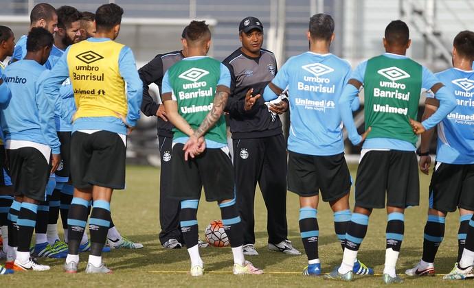 Roger Machado, técnico do Grêmio (Foto: Lucas Uebel/Grêmio/Divulgação)