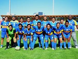 Boca Júnior-SE comemora título Estadual Feminino (Foto: João Áquila/GLOBOESPORTE.COM)