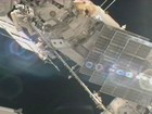 Caminhada espacial posiciona escudo contra meteoritos na ISS