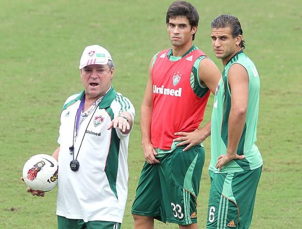 Abel Braga - treino do Fluminense (Foto: Ivo Gonzalez / Agência O Globo)