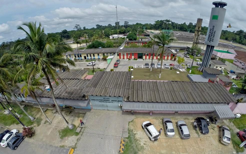 Complexo Penitenciário Anísio Jobim, em Manaus (Foto: Divulgação/Seap)