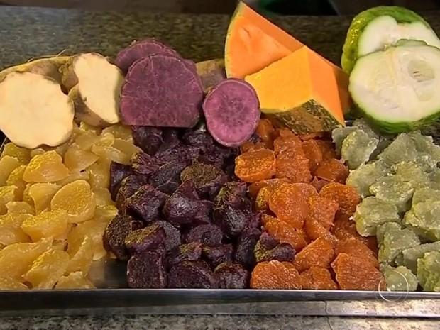 Doces de abóbora, batata e cidra viram patrimônio cultural e gastronômico (Foto: Reprodução / TV TEM)