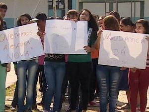 Escola Ruth Sá Caçapava (Foto: Reprodução/TV Vanguarda)