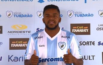 Londrina apresenta atacante e anuncia mais dois reforços para a Série B