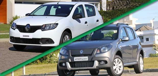 Novo ou usado: Renault Sandero (Foto: Divulgação)