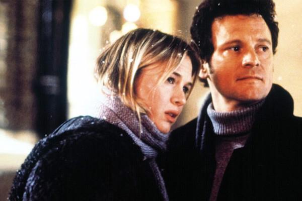 """Talvez não exista filme casal que melhor represente o dizer """"os opostos se atraem"""" do que os personagens de Renee Zellweger e Colin Firth em 'O Diário de Bridget Jones' (2001 - foto) e 'Bridget Jones: No Limite da Razão' (2004). (Foto: Divulgação)"""