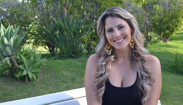 Apresentadora Jessica Leão t (Foto: Reprodução / TV Diário)