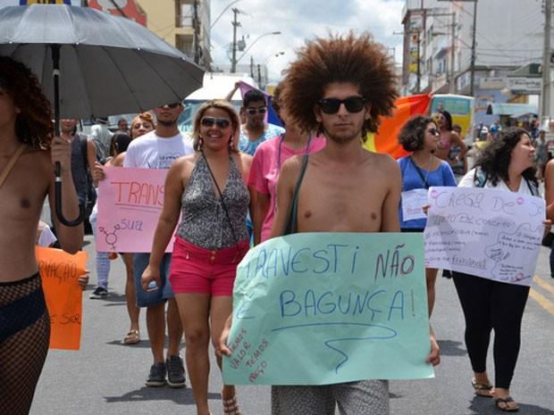 G1 - Ativistas cobram punição para morte de travesti   crimes de ... 15aec87582e6d