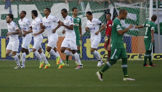 Chapecoense x Santos gol de Lucas Lima (Foto: Márcio Cunha/Mafalda Press/Estadão Conteúdo)