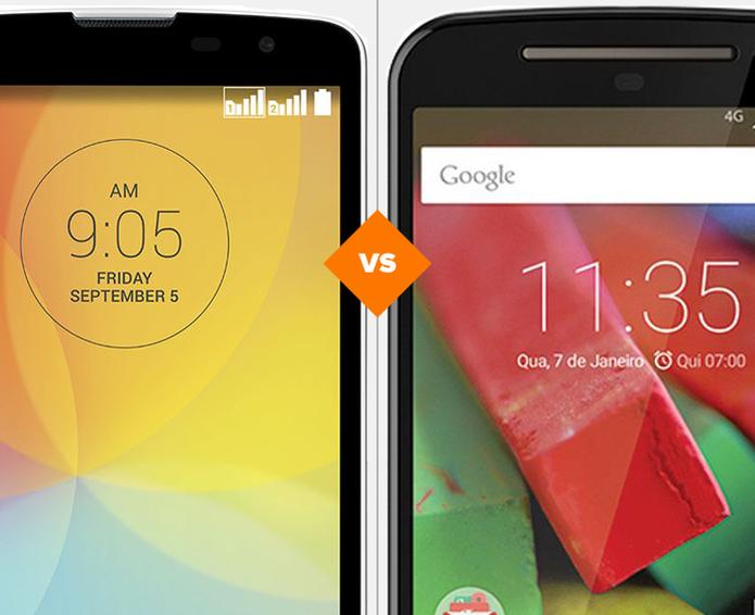 LG L Prime ou Moto G 2? Descubra qual smartphone vale o seu investimento (Foto: Arte/TechTudo)