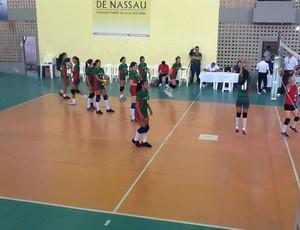 Seleção Acreana disputa Brasileiro de Vôlei Infanto-Juvenil, em Maceió (AL) (Foto: Divulgação/Feav)