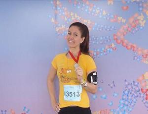 eu atleta Adrianna Braga Circuito Vênus  (Foto: Arquivo Pessoal)