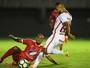 Carlinhos tem lesão na coxa esquerda constatada e desfalca Inter por 1 mês