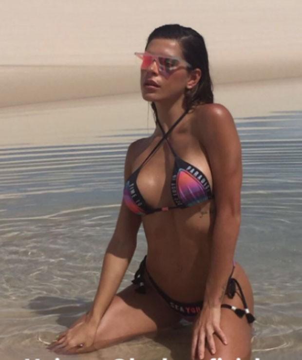 Mariana Goldfarb: curvas (Foto: Reprodução Instagram)