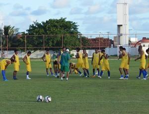 Socorrense tem desfalques para a partida (Foto: Felipe Martins/GLOBOESPORTE.COM)