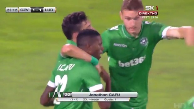 BLOG: Ex-São Paulo Jonathan Cafu faz golaço por time da Bulgária na pré-Champions