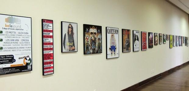 Exposição fica no Centro Cultural dos Correios até 10 de maio (Foto: Débora Soares/G1)