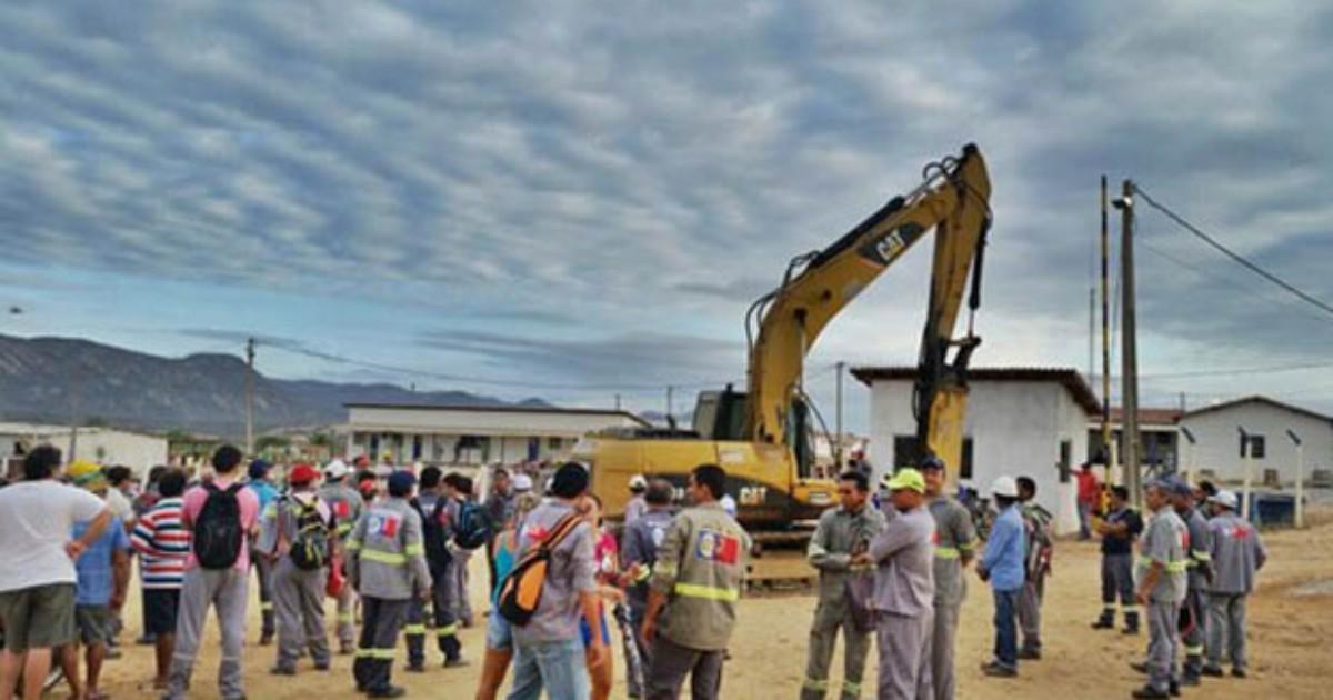 Governo do RN faz apelo, mas obra da barragem de Oiticica segue ... - Globo.com