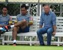 """Com Mano """"à paisana"""", titulares do Cruzeiro fazem treino técnico na Toca"""