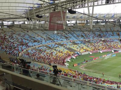 Torcida Flamengo Maracanã (Foto: Fred Gomes)