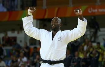 """Estrela do judô, Teddy Riner descarta migrar para MMA: """"Violento demais"""""""