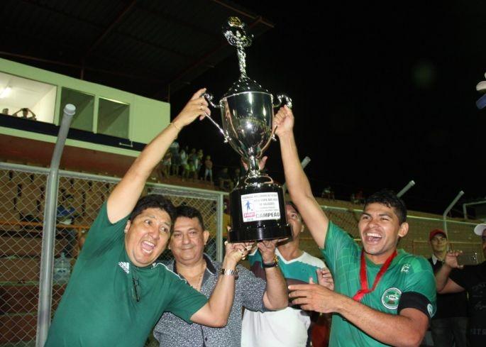 Itacoatiara foi campeã da Copa dos Rios 2016 (Foto: Divulgação/FAF)