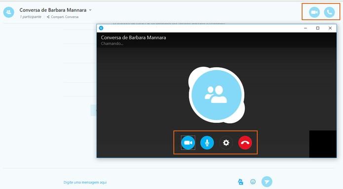 Faça as chamadas em vídeo e áudio no Skype pelo PC (Foto: Reprodução/Barbara Mannara)
