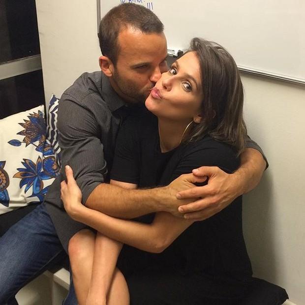 Rafael Lund e Deborah Secco em evento na Zona Oeste  (Foto: Instagram/ Reprodução)