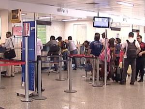 A expectativa é fechar o mês de dezembro com 40 mil embarques e desembarques.  (Foto: Reprodução/ TV Grande Rio)