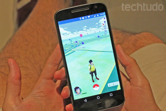 Pokemon Go (Foto: Camila Peres/TechTudo)