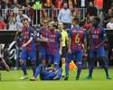 Torcedor do Valencia se desculpa em rádio após lançar garrafa em Neymar