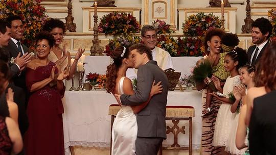 Último capítulo: Regina e Vinícius se casam e novos romances surgem