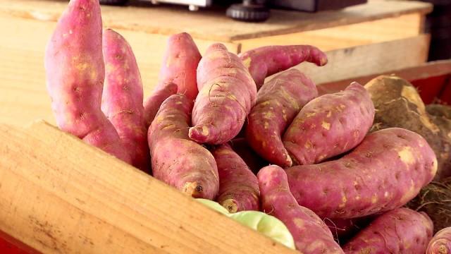 Batata doce (Foto: Reprodução/TV Tribuna)