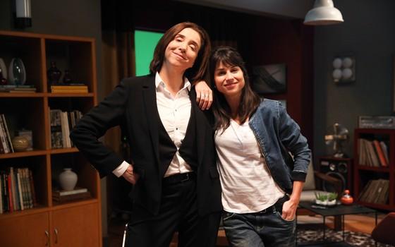 Marisa Orth e Chandelly Braz: elas serão casadas na nova série de Fernanda Young e Alexandre Machado (Foto: Tricia Vieira/ Divulgação)