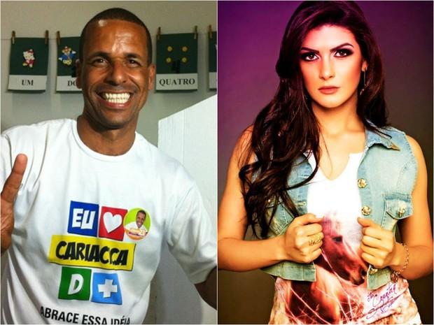 Juninho e Nabila estão se relacionando, diz miss (Foto: G1ES/ Reprodução Facebook)