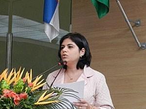 Priscila Krause - vereadora do Recife (Foto: Divulgação / Site oficial da vereadora Priscila Krause)