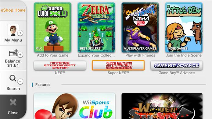 Wii U: confira cinco games clássicos imperdíveis disponíveis no Virtual Console (Foto: Reprodução/Murilo Molina)