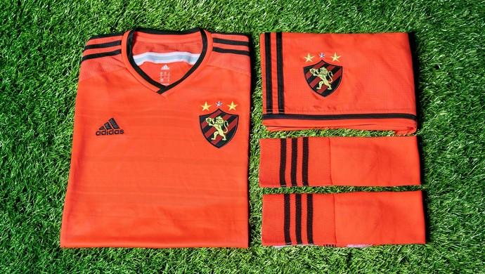 Camisa nova do Sport laranja terceiro uniforme (Foto  Adidas Divulgação) c6e5e82e54f67