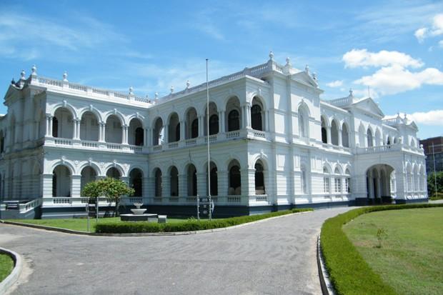 O Museu Nacional, em Colombo (Foto: Sebastião Rinaldi)